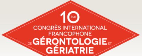 Dixième Congrès de gérontologie et de gériatrie