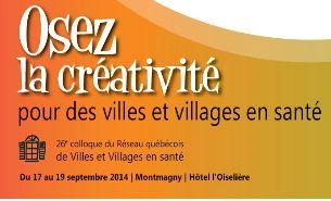 VADA-QC participe au 26e colloque du Réseau québecois des villes et villages en santé