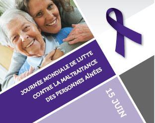Journée mondiale de lutte contre la maltraitance des personnes aînées